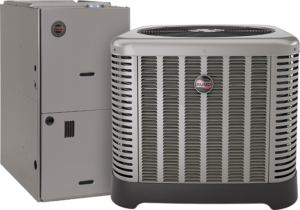 Ruud Equipment Condenser and Air Handler - R410A