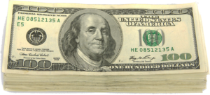 100 Dollar Bill Savings from AC Financing with Approved Credit